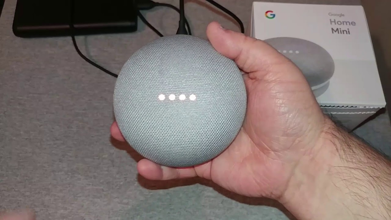 How To Factory Reset Google Home Mini Youtube
