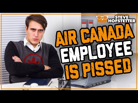 Air Canada Guy Yells At Comedian - Steve Hofstetter
