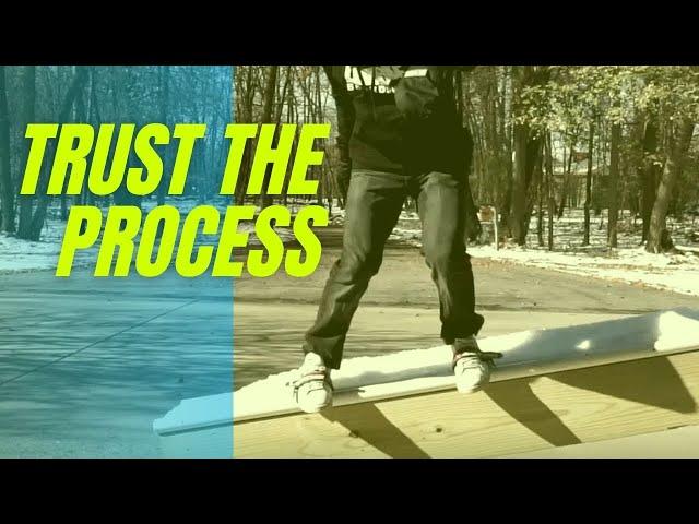 Trust the process - Skidz GrindPlates