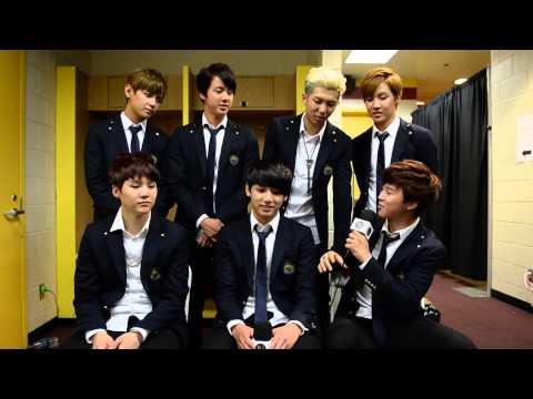 Interview: BTS - Bangtan Boys (South Korea) discuss KCON, meeting Warren G, food cravings and more