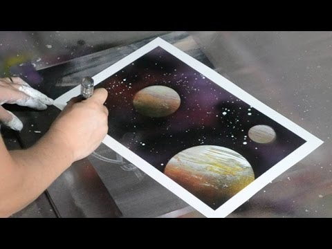 Amazing Speed Art Spray Painting