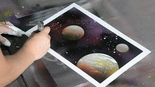 Amazing Speed Art Spray Painting