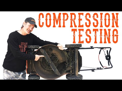 Easiest Way To Test The Compression On Your Lawn Mower – Video
