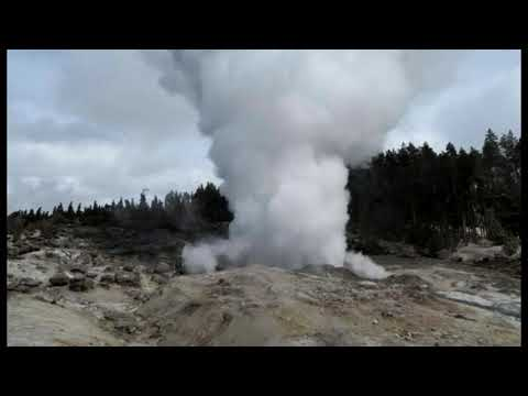 Yellowstone's Steamboat Geyser Erupts 30 Timesn , Breaking Record From 1964