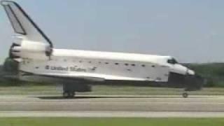 STS-112 landing