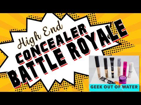 High End Concealer BATTLE ROYALE!