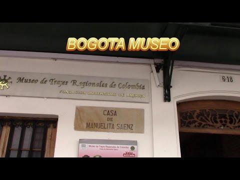 BOGOTA MUSEO DE TRAJES REGIONALES DE COLOMBIA