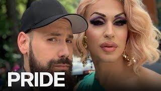 EXCLUSIVE: Brooke Lynn Hytes At Toronto Pride | ET CANADA PRIDE