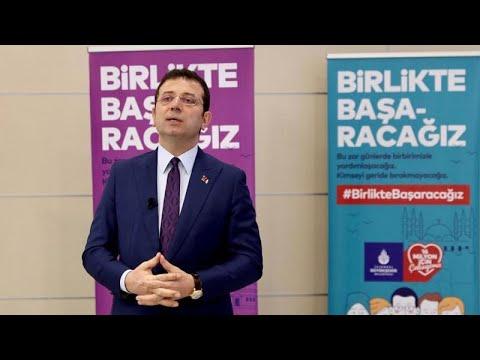 İBB Başkanı İmamoğlu: Millet can derdinde birileri Kanal İstanbul derdinde   Video
