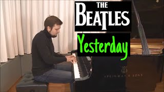 """The Beatles - """"Yesterday"""" / Evgeny Alexeev, piano cover"""