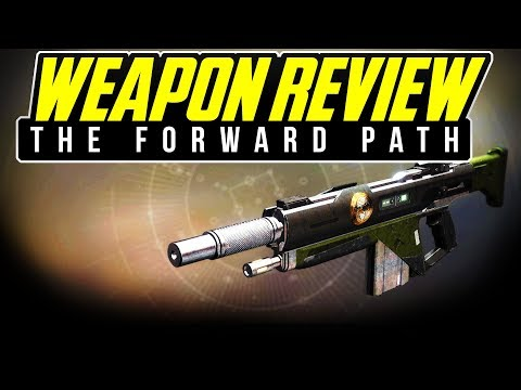 Destiny 2 THE FORWARD PATH REVIEW Iron Banner Auto Riffle Is it GOOD or BAD In Depth WEAPON REVIEW