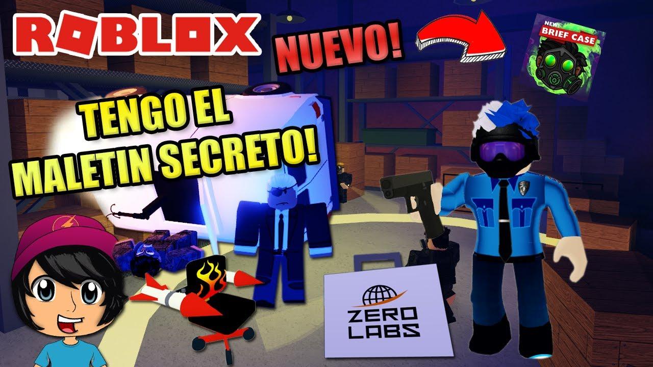 TENGO EL MALETÍN SECRETO! POLICIA VS ZOMBIES!   Soy Blue   Field Trip Z Roblox Español