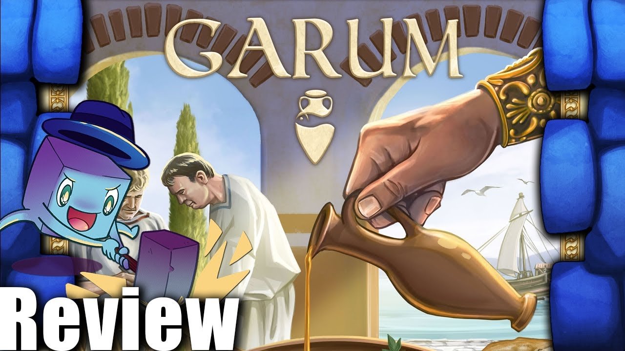 Garum Review - with Tom Vasel