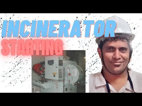 How to start and operate Incinerator? #marine, #incinerator