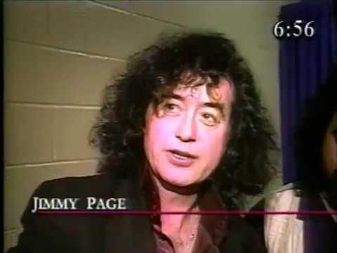 Jimmy Page CNN 1995 Estrange