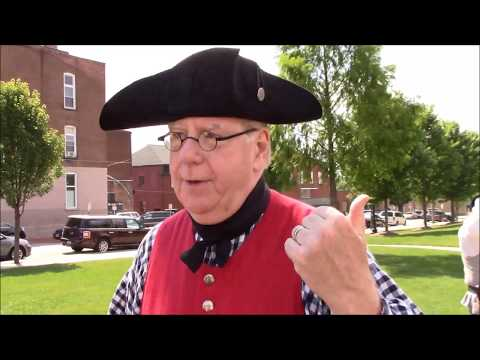 Colonel Crawford Company presents American colonial history