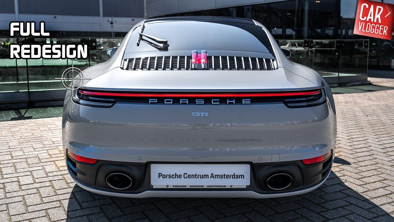 Inside The New Porsche 911 992 Carrera 4s 2019 Interior Exterior Details W Revs Youtube