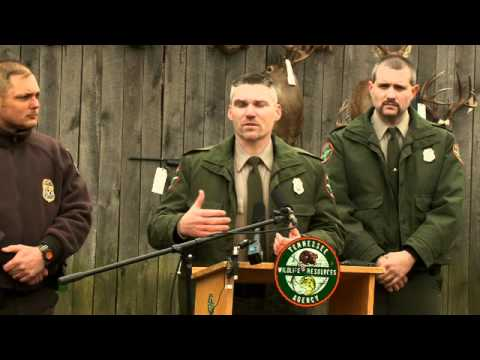 Fort Campbell Deer Poaching Press Conference