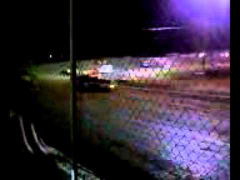 Greenville Speedway. Crates.
