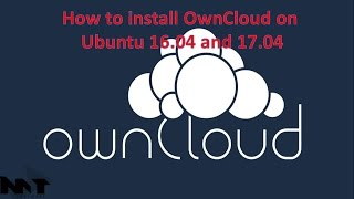 How to install OwnCloud on ubuntu 16.04,17.04 Video