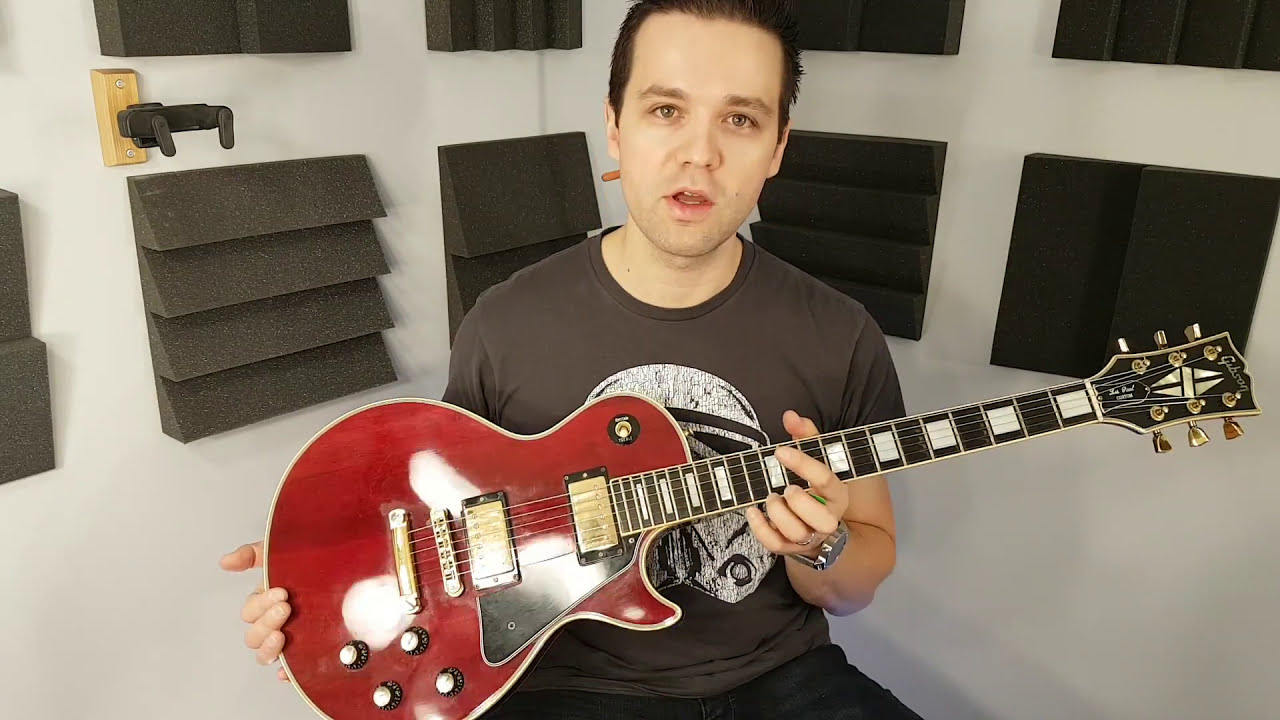 Check out this Awesome 1977 Gibson Les Paul Custom! - demo and .