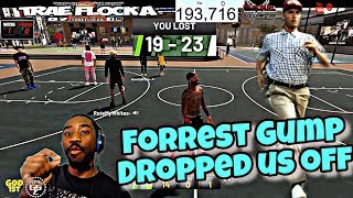 HILARIOUS ARGUMENTS! NBA 2K19! FORREST GUMP DROPPED US OFF! I GOT SOLD ON THE LAST SHOT! #GOMFSFB