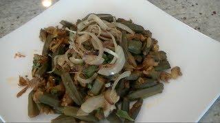 Bhindi Do Pyaza - Indian Okra Recipe