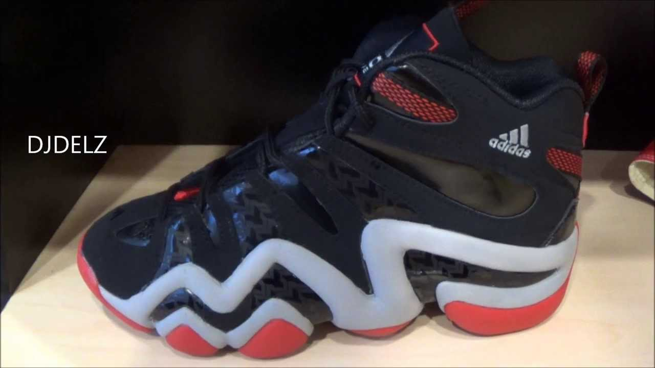 online retailer 3283c 04ecc Adidas Damian Lillard Crazy 8 PE Sneaker Review With Dj Delz DjDelz -  YouTube