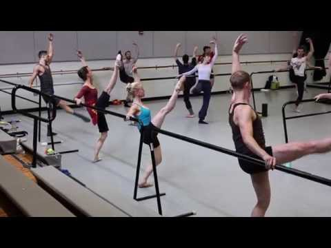 Daily Ballet Class at NCI