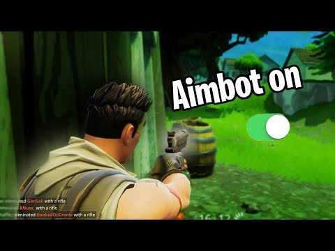 HOW TO GET AIMBOT IN FORTNITE!!!