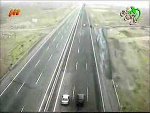 Iran - tehran Autoban Police Chase - Unsafe Driving