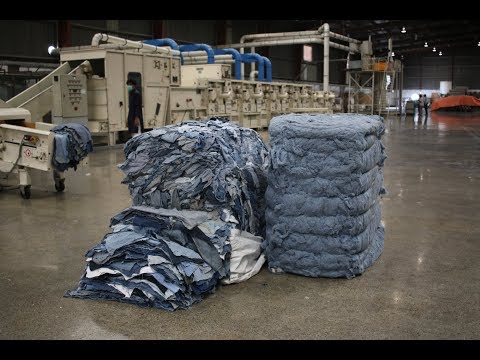 Recycling Used Denim Into New Cotton With AFGI's Post Consum