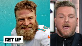 Pat McAfee reacts to the Dolphins' first win: 'You can't outstink the Jets!' - | Get Up