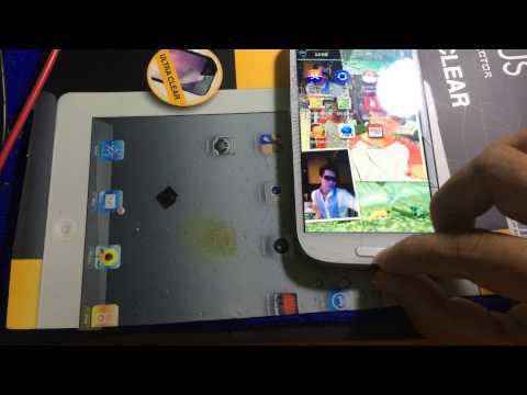 ก่อนทำการเปลี่ยนกระจก Samsung S3 เรามาเทสทัชสกรีนก่อนว่ายังทัชได้ไหม Part 1