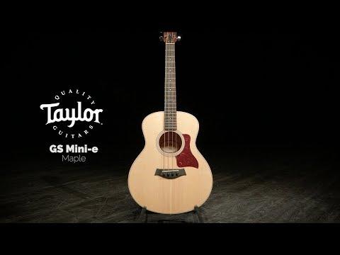 taylor-gs-mini-e-maple-bass-|-gear4music-demo