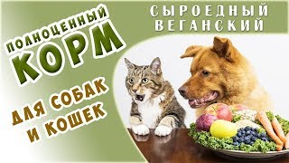 Лучшие в Мире Веганские СЕ Корма для КОШЕК и СОБАК - впервые в России! Сенсация!