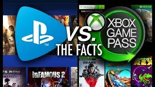 PlayStation Now vs. Xbox Game Pass: The Facts and Why They SHOULDN'T Be Compared