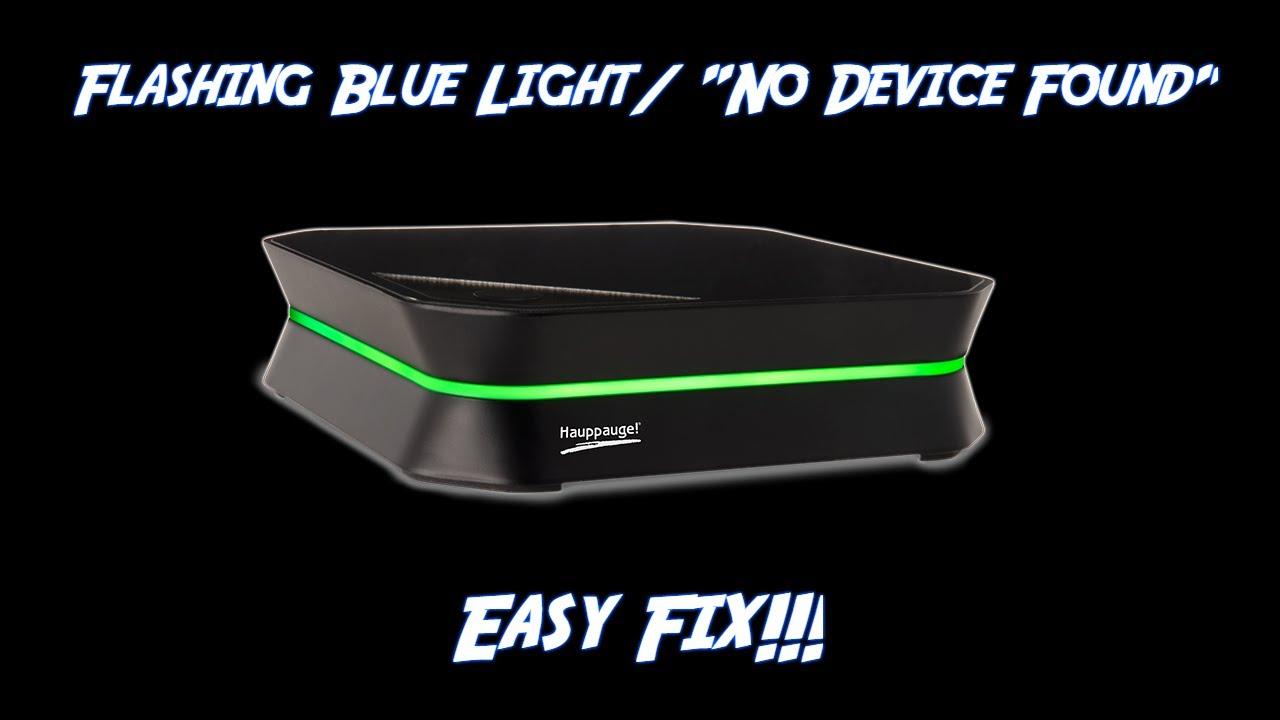 How To Fix Flashing Blue Light/