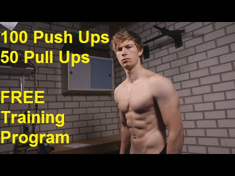 how to get to 100 pushups