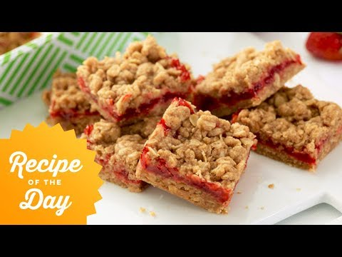 Recipe Of The Day: Ree's Strawberry Oatmeal Bars | Food Network