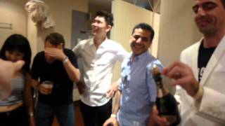 Bangkok Touch meets Tokyo Touch after performance celebration at Japan Bachata Mambo Festival 2014