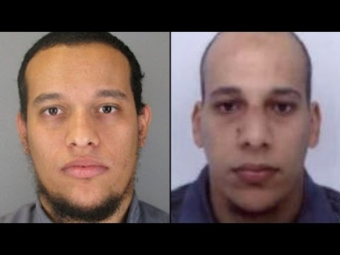 Pair of brothers main suspects in Paris terror attack