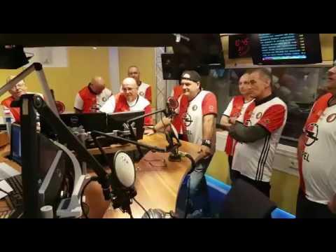 Rotterdam en Trots Live bij Radio Rijnmond bij Marleen Scheurkogel