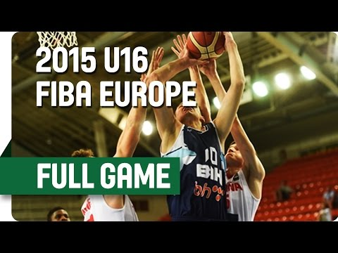 Spain v Bosnia and Herzegovina - Semi-Final – Live Stream- 2015 U16 European Championship Men