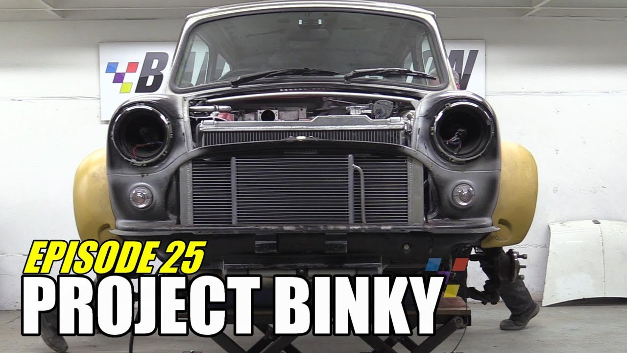 Project Binky - Episode 25 - Austin Mini GT-Four - Turbocharged 4WD Mini