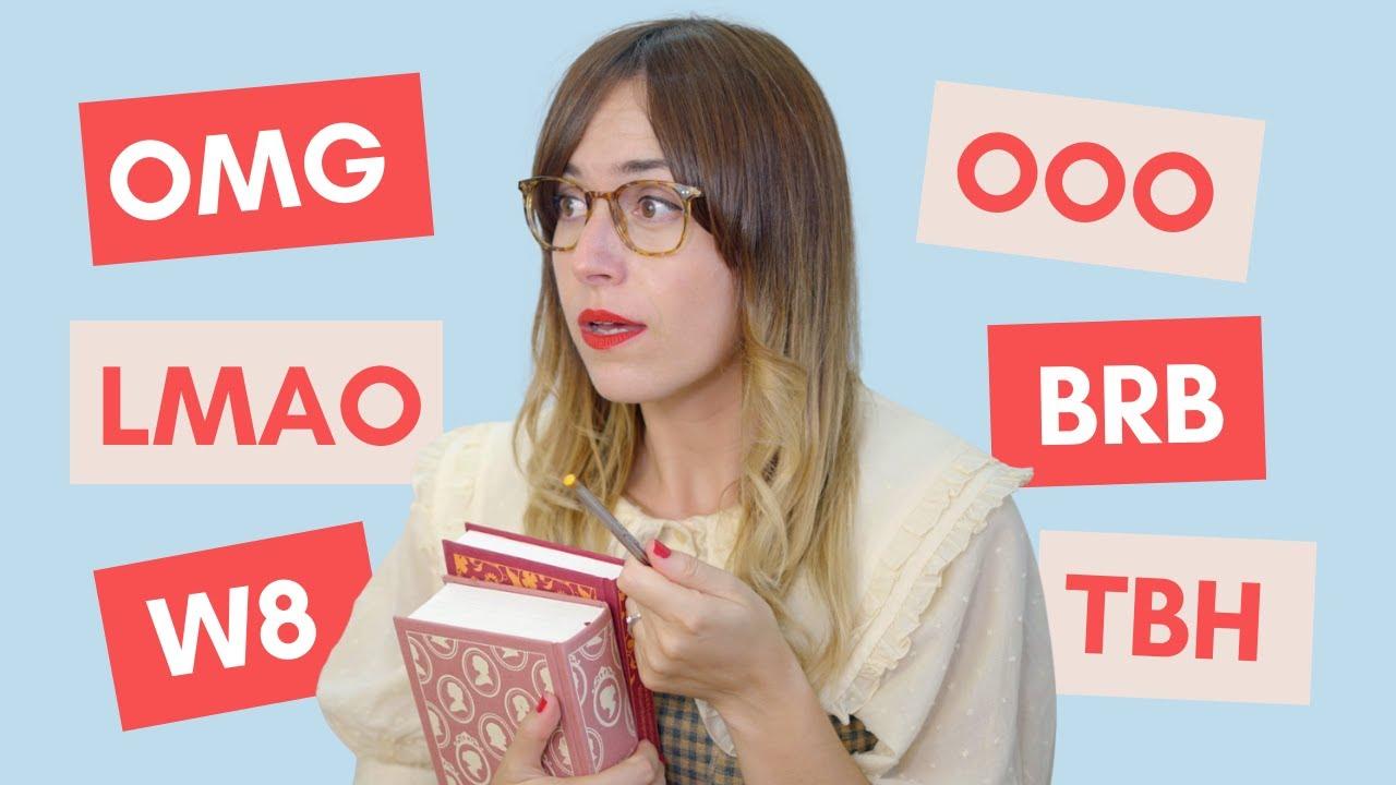 OMG! 😅 20 acrónimos en inglés que debes conocer ASAP