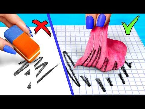 10 Weird Ways To Sneak Stress Relievers Into Class / Anti Stress School Supplies