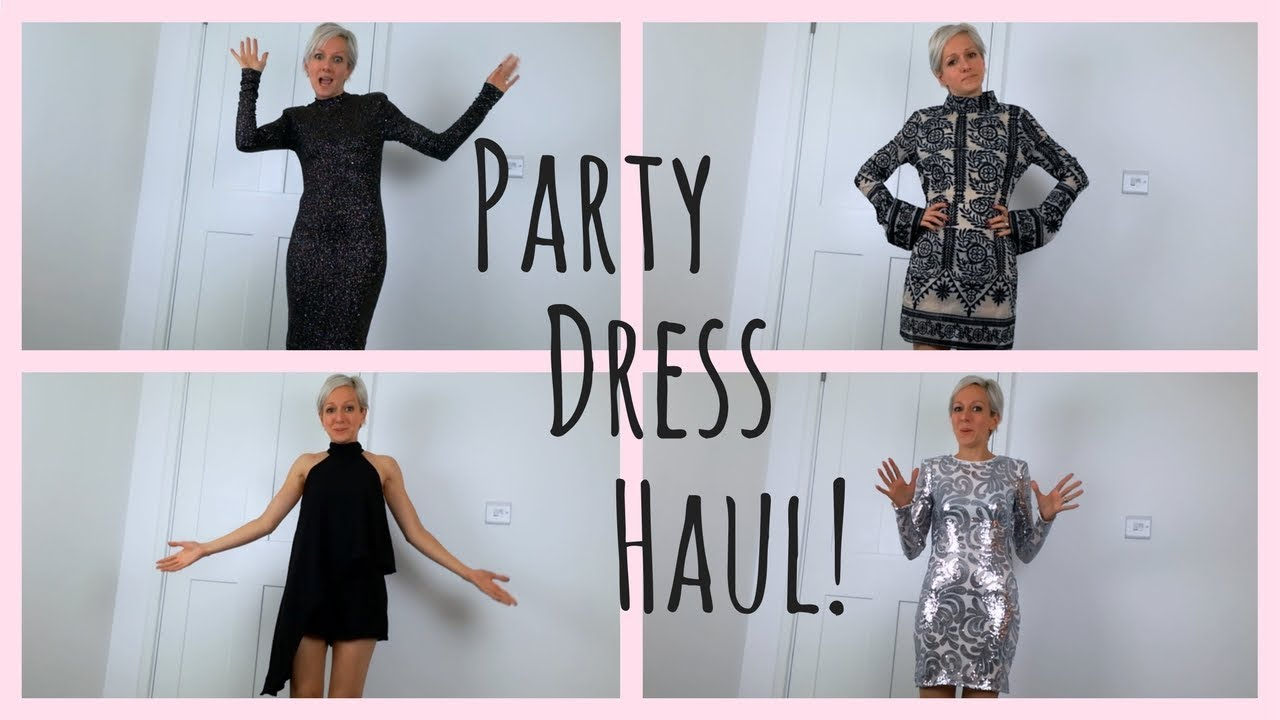 Party Dress Haul! (H&M & Missguided) - YouTube