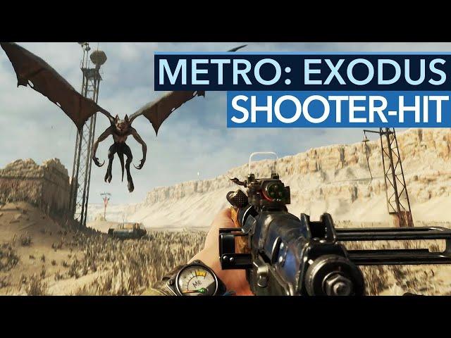 Warum ist Metro: Exodus der beste Singleplayer-Shooter seit Jahren?