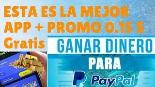 ESTA ES LA MEJOR APP PARA GANAR DINERO RAPIDO Y FÁCIL POR VER VIDEOS DE YOUTUBE + 0.15 $ Gratis
